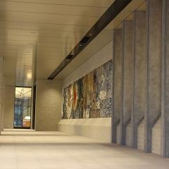 バースセンター玄関